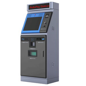 Parking Payment Kiosk With Cash/Coin In/Out Functions